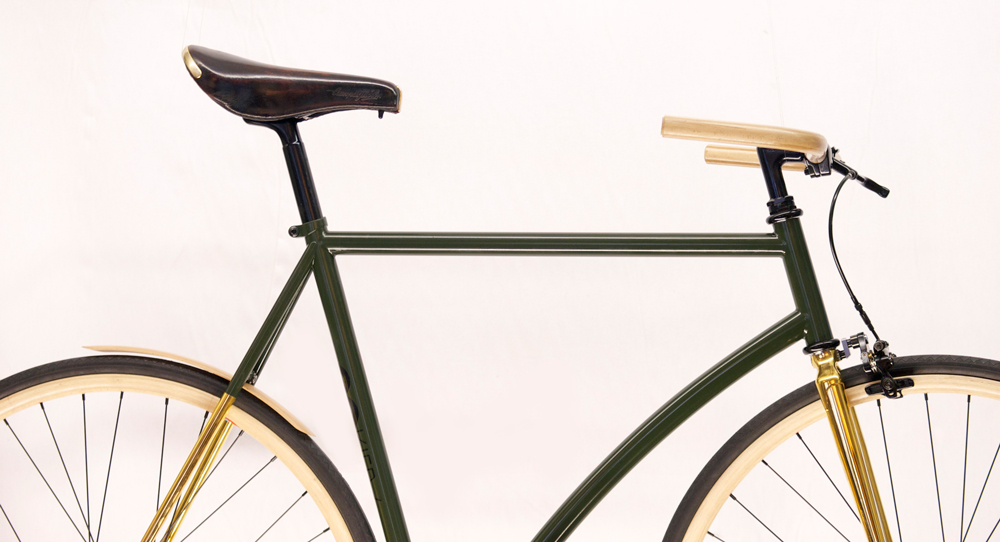 "Gorilla . urban cycling Bikes ""Lama 24-Gold"""
