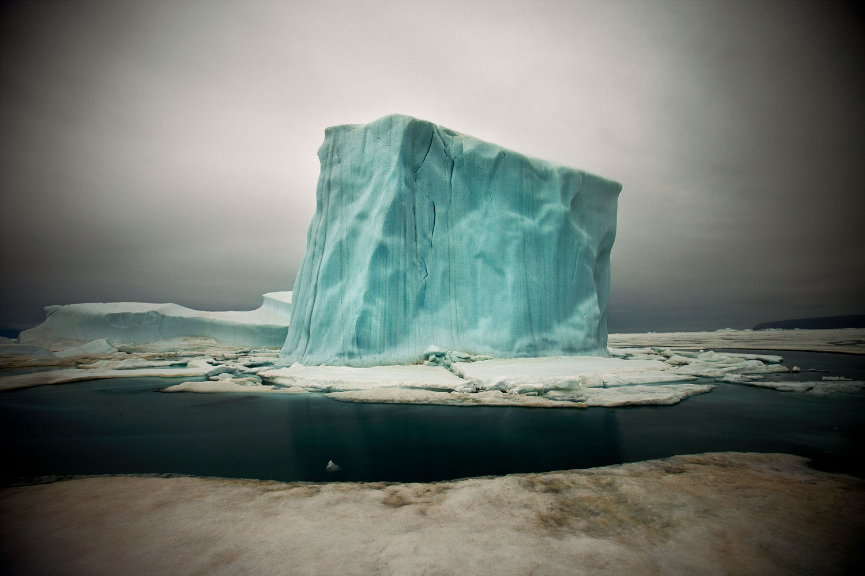 Iceberg IX (Greenland), 2010.