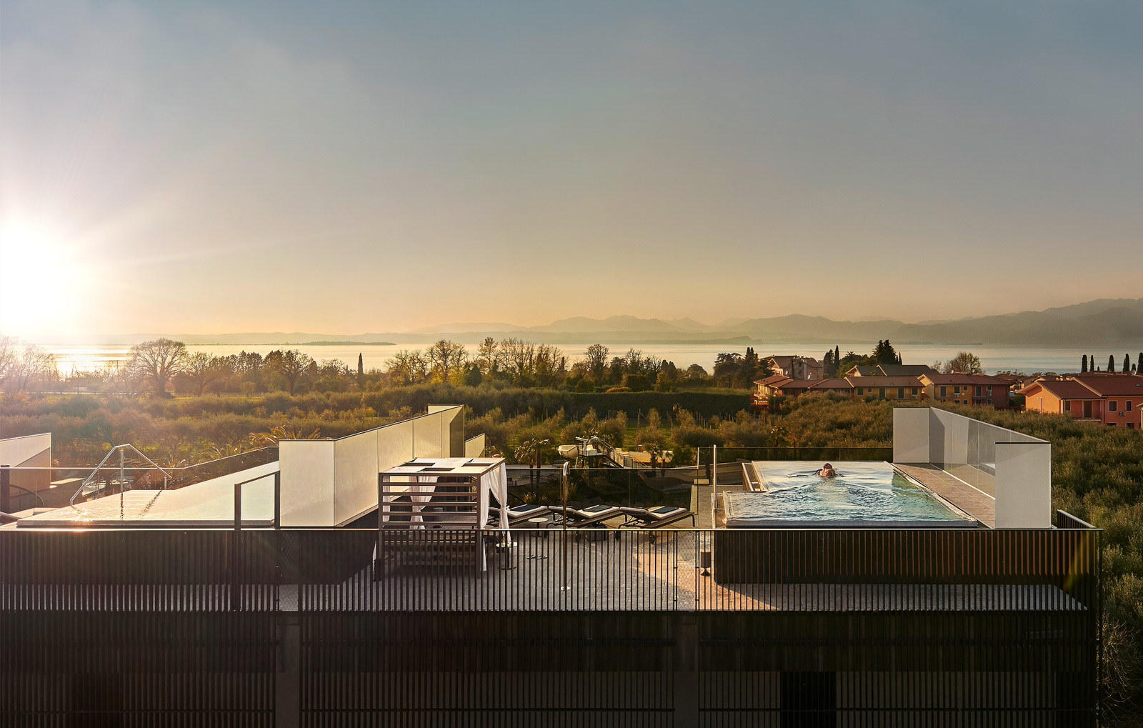 Quellenhof Resort Lazise Penthouse Pool Villa