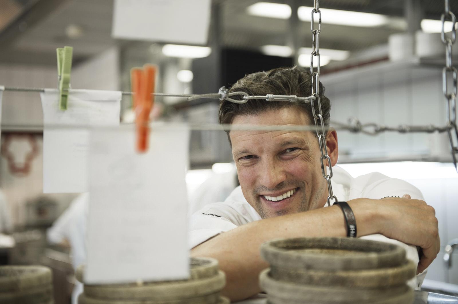 Christian Jürgens 3-Sterne-Koch im Restaurant Überfahrt